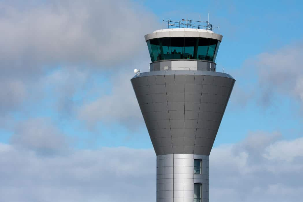 The Jersey ATC tower - Senators and Mayors Voice Opposition to Privatizing Air Traffic Control