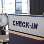 The check in desk at an airport - Airline Secrets Revealed