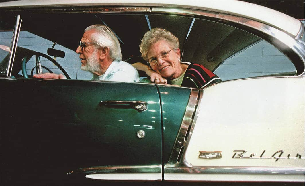 Classic Cars collector Harold May and his wife Nancy, founders of Lemay America's Car Museum