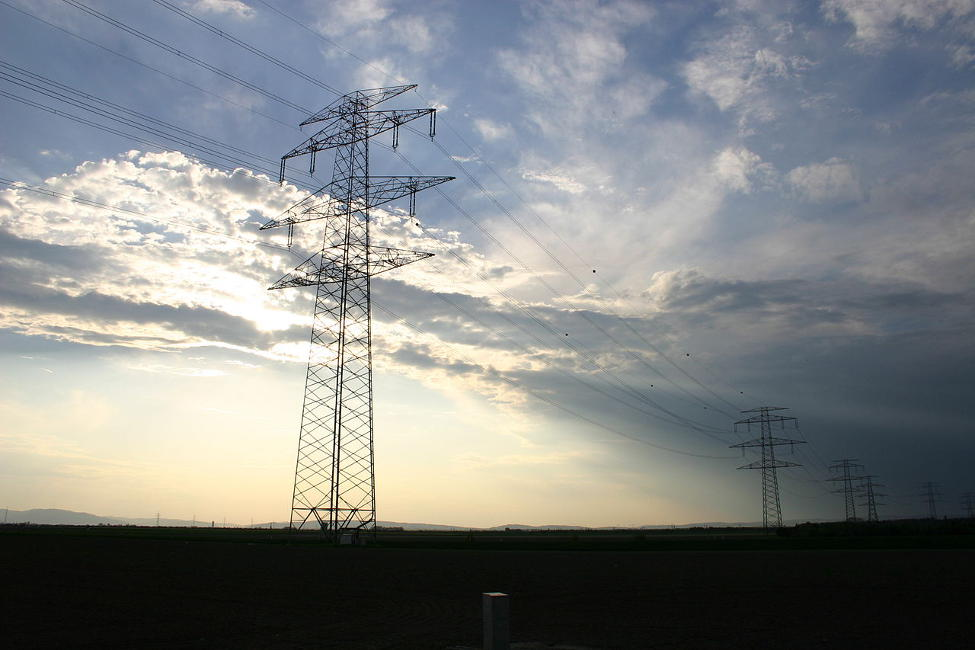 High voltage transmission towers and wires, which can present a problem for private pilots flying a helicopter.
