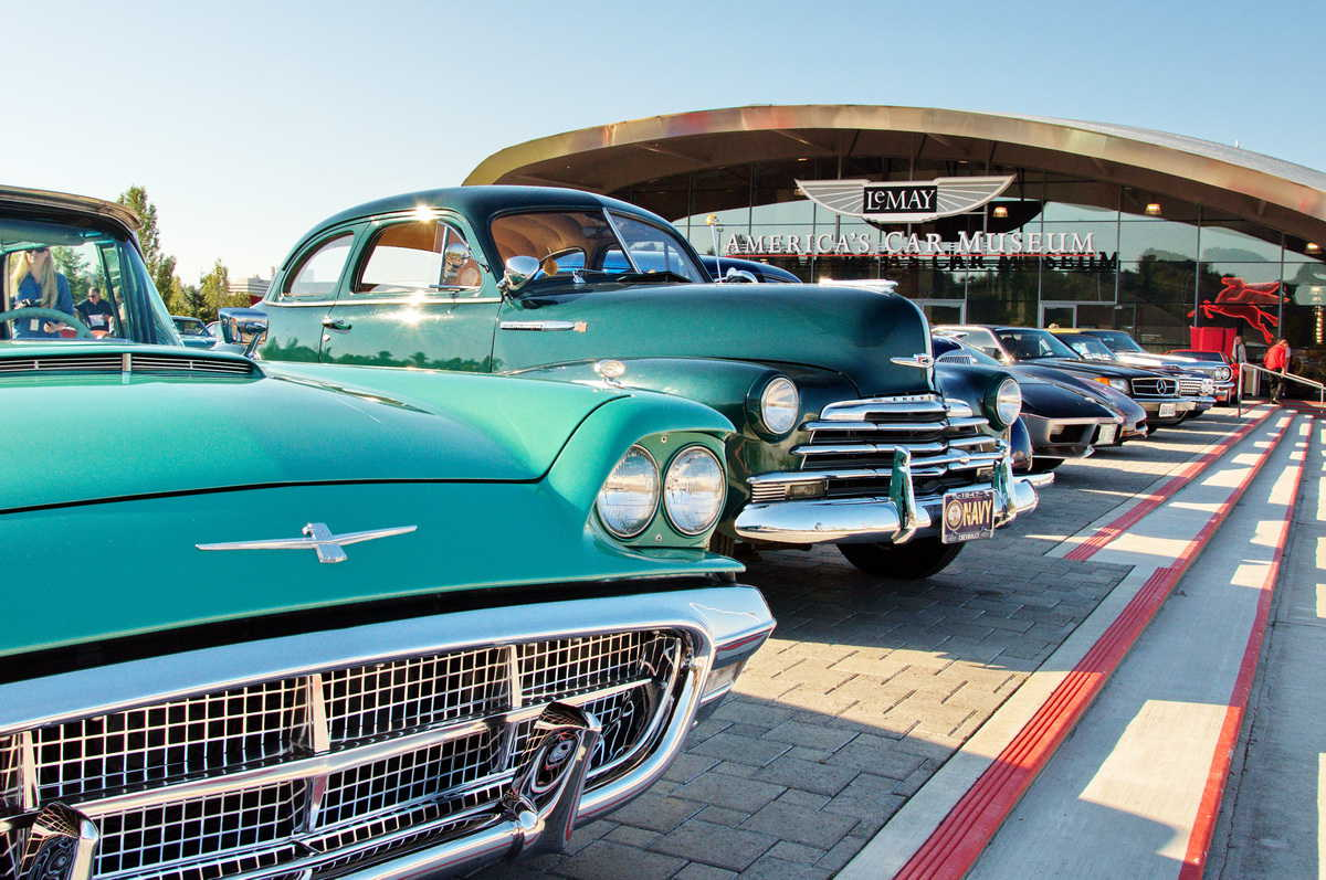 The Lemay America's Car Museum, which houses North America's largest collection of classic cars.