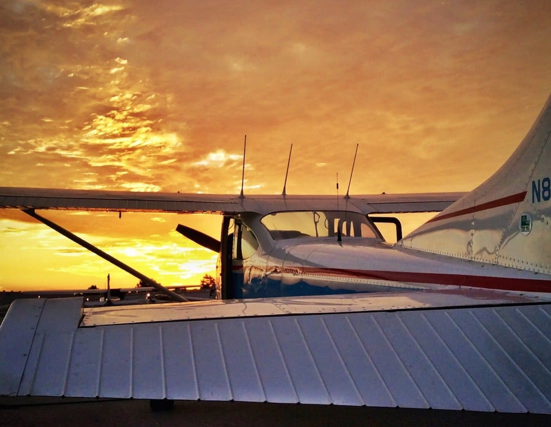 Cessna 182H at Fullerton Airport