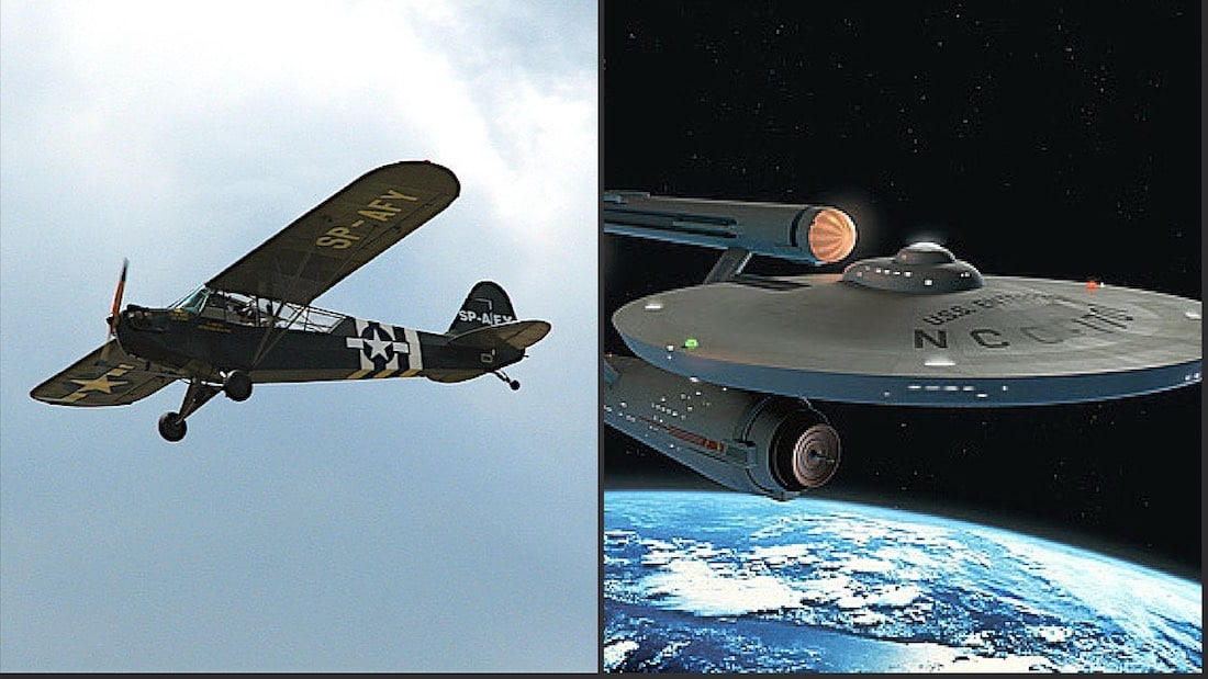 The True Story of Aviator: Gene Roddenberry