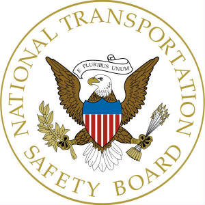 Logo of the NTSB, or National Transportation Safety Board - Recurrent Flight Training