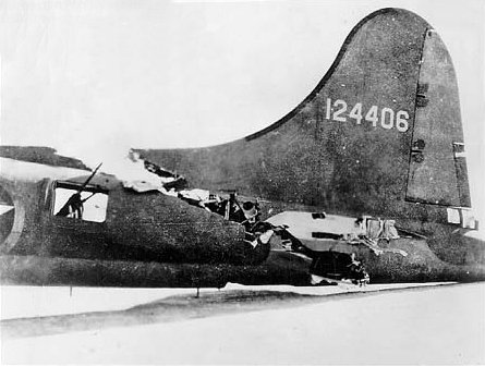 B-17 All American tail