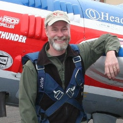 Photo of private pilot and CFI Rich Stowell