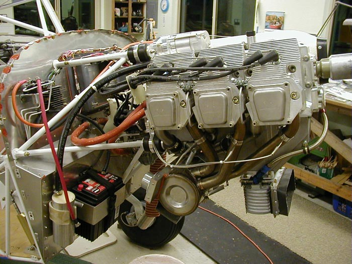 The Jabiru 3300 engine going into a Kitfox airplane