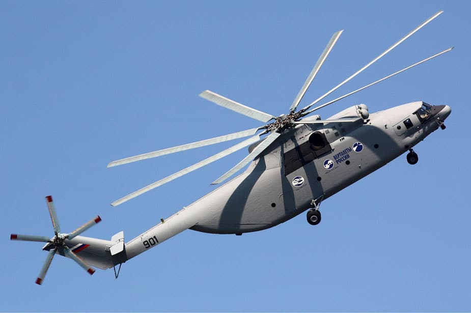Mi_26T2 in flight, the world's largest helicopter
