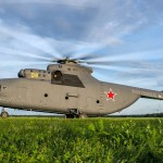 The Mi-26, the world's largest helicopter