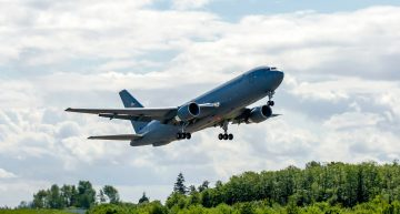 Final Boeing KC-46 Aircraft Completes Its First Test Flight