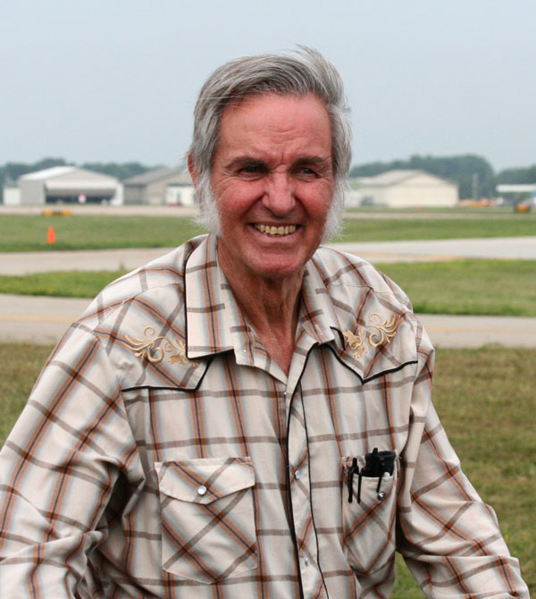 Pilot, engineer and aircraft designer Burt Rutan