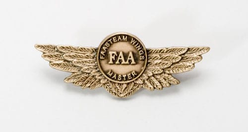 The FAA WINGS program master pin