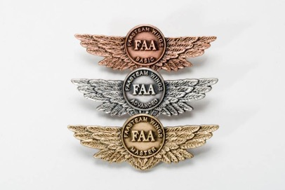 The FAA WINGS program pins