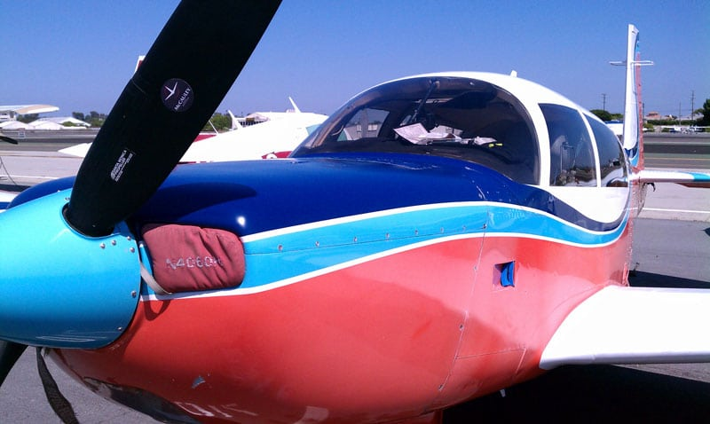 Mooney M20 after Detailing, Photo by Crista Worthy