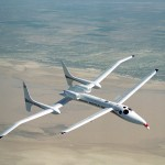 Scaled Composites Proteus Aircraft in flight
