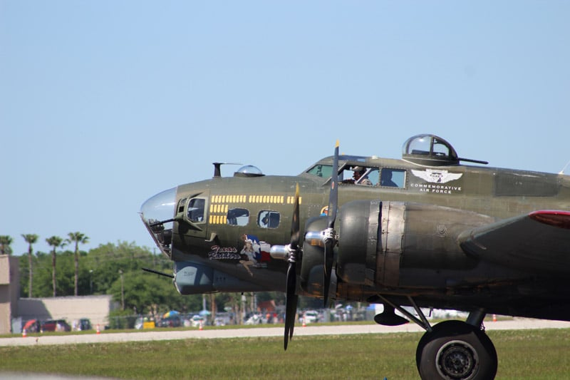 Vintage WW2 aircraft at Sun n' Fun