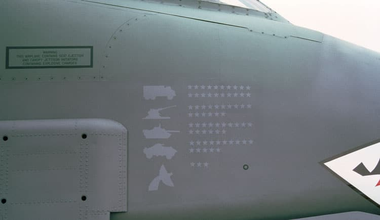 Kills for an A-10 Thunderbolt II, or A-10 Warthog
