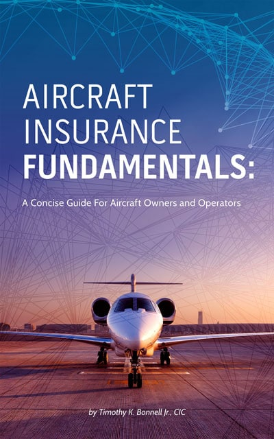 Book cover for Aircraft Insurance Fundamentals: A Concise Guide For Aircraft Owners and Operators