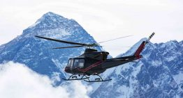 Tests For Bell 412EPI Helicopter Run Near Everest