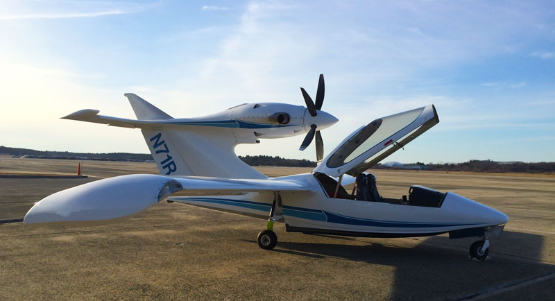 Super Seawind Aircraft parked at airport