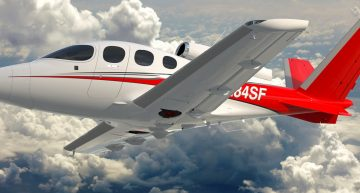 UPDATE: The FAA Has Certified the Cirrus Vision SF50 Jet