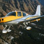 The Cirrus SR22T, Capable of being equipped with the Cirrus Perception platform