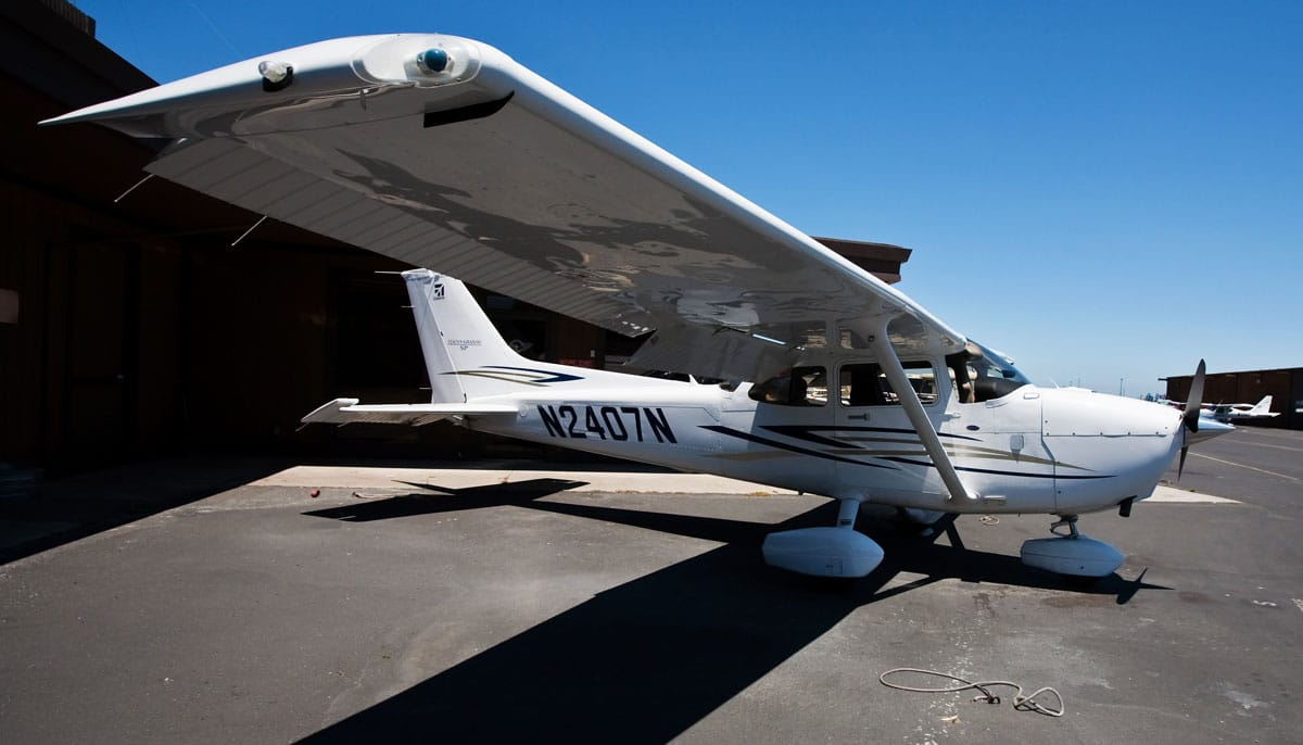 Cessna 172 in the hangar area of an airport - GA Groups to FAA: Act Quickly on Part 23 Changes