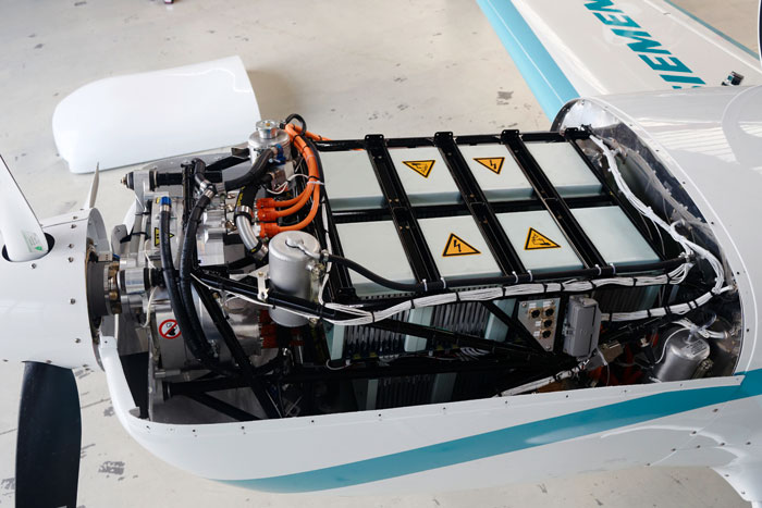 Siemens electric aircraft motor