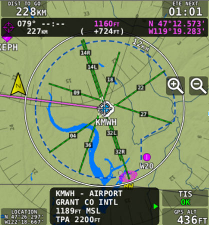 Extended Runways as part of SkyVIew software update