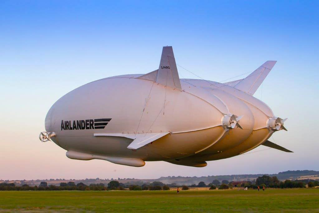 The Airlander 10, the World's Largest Aircraft