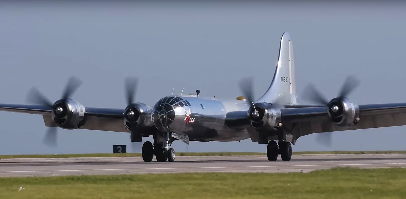 B-29 Doc on the runway