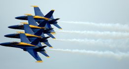 Museum of Flight Adds Retired Blue Angel to Permanent Display