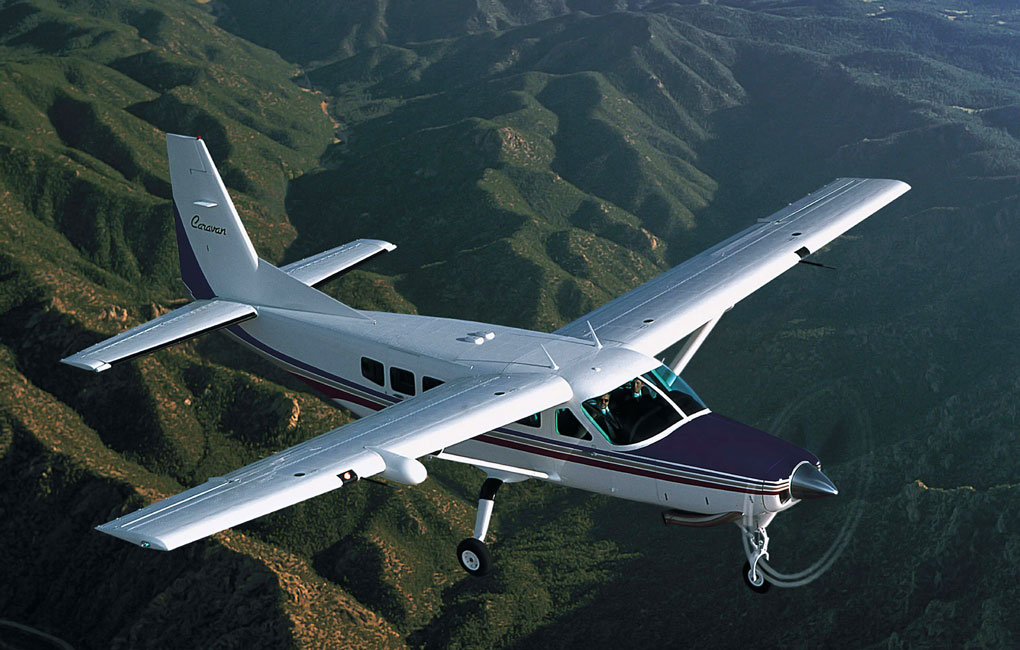 Cessna Caravan in flight - Textron's Peace of Mind Program for Cessna Caravan, Beechcraft King Air