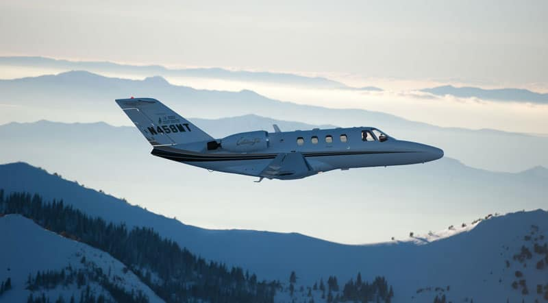 Cessna Citation Jet, mountain flying