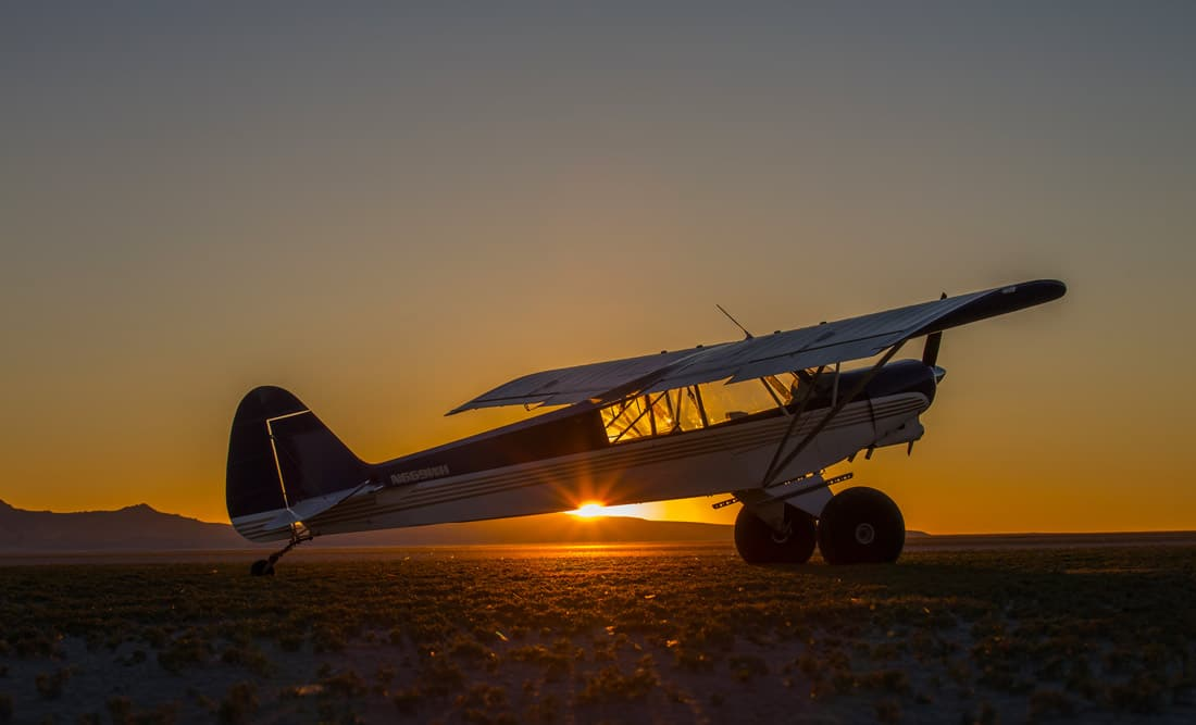 The Super Cub aircraft at a backcountry airstrip - Grapevine Airstrip in Arizona Draws Closer to Being Reopened