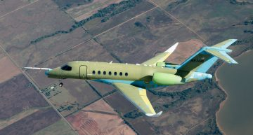 Cessna Citation Longitude Completes Successful First Flight