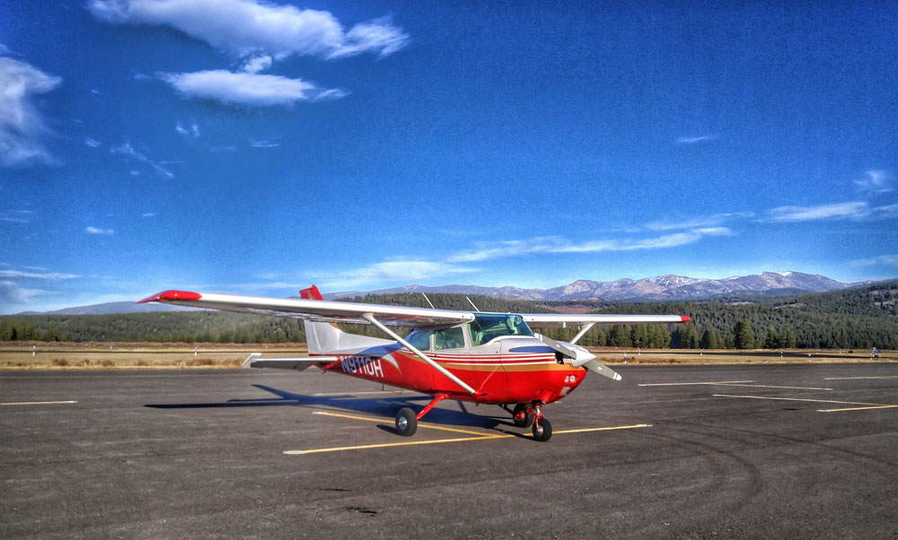 1975 Cessna 172m on the runway at KTRK - Flight Lesson Journal: Doubting One's Airworthiness