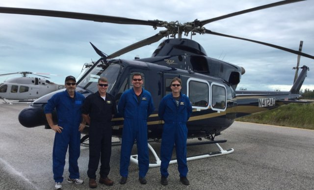 Bell Helicopter flight crew involved in Haiti Relief Efforts