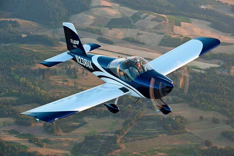 Van's RV-12 Aircraft, the grand prize in the 2017 EAA sweepstakes