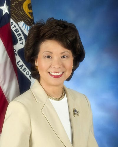 Elaine Chao, President-elect Donald Trump's Secretary of Transportation