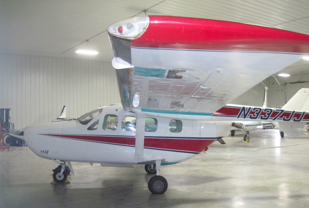 1973 Cessna Skymaster up for Auction from Textron Financial