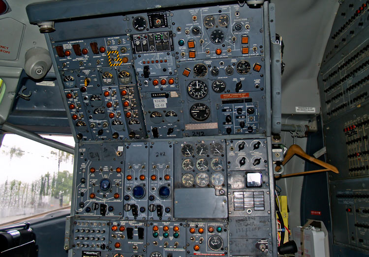 Flight Engineer Station on a Boeing 727 - My Path to Becoming a Pilot in Kenya