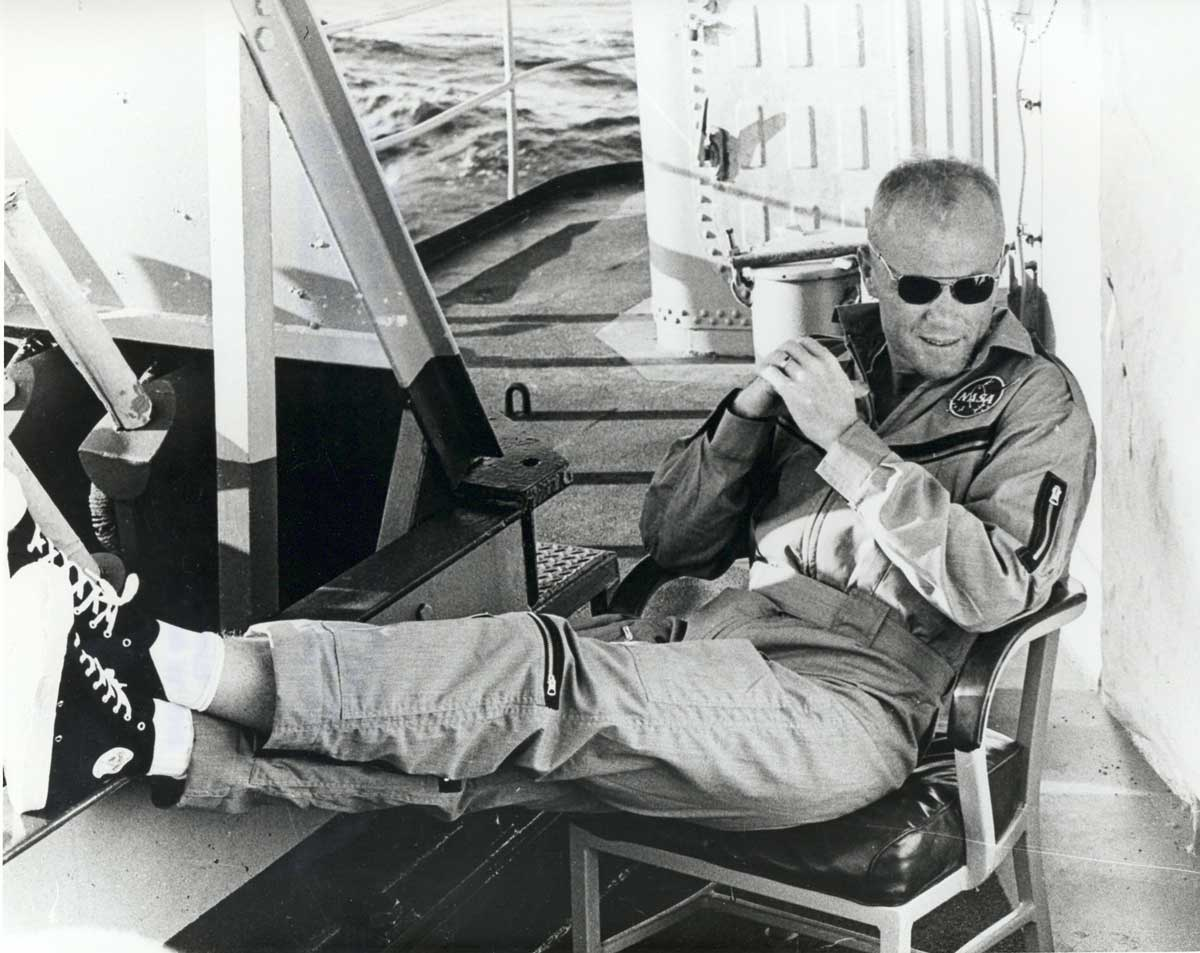 John Glenn at NASA