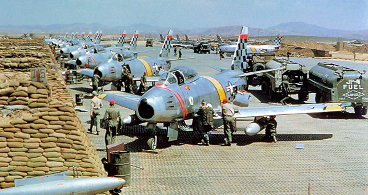 51st fighter interceptor wing at Suwon Air Force base