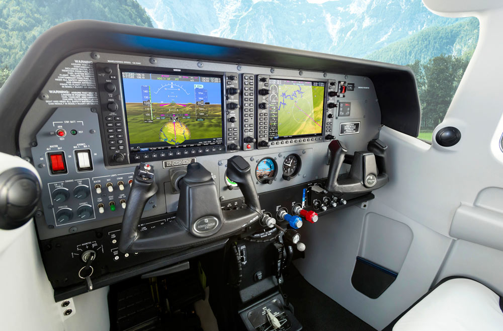 Cessna 206T Stationair with G1000 NXi integrated flight deck