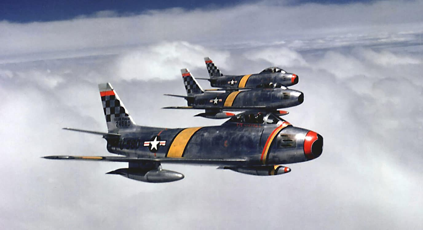F-86 Sabre Fleet, USAF, Korean War