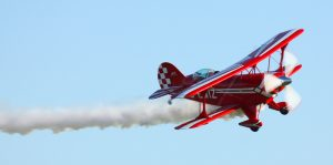 Pitts Special in flight