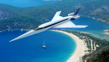 First Flight for Supersonic Jet Prototype Expected By Summer 2017