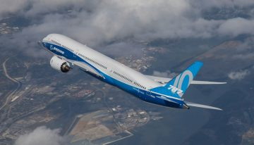 UPDATE: Boeing 787-10 Dreamliner Completes Near 5 Hour First Flight
