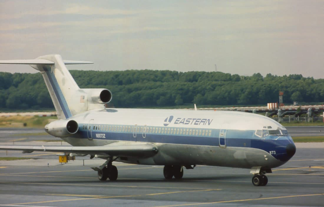 Eastearn Air Lines Boeing 727 aircraft